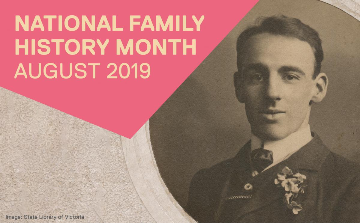 Family History Month - August