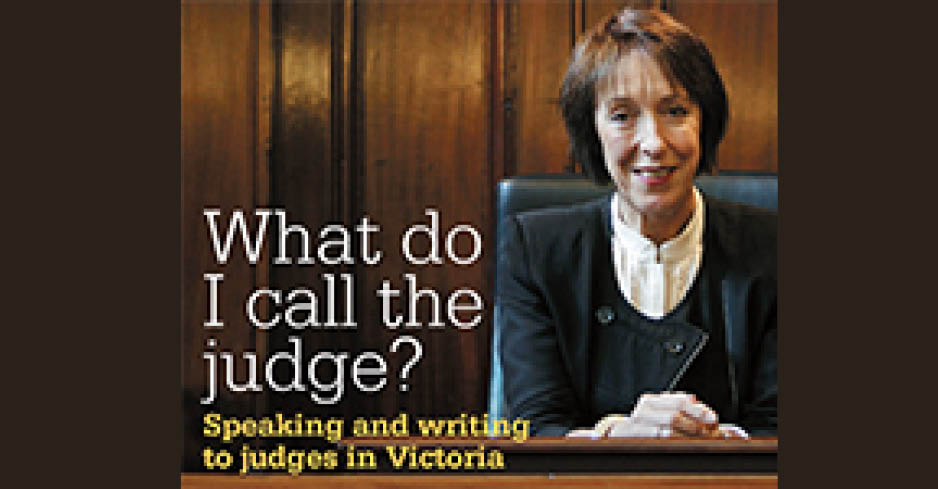What do I call the Judge?