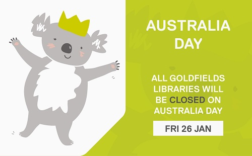 Australia Day - All libraries closed